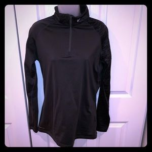 Nike Pro Therma Fit 1/4 Zip Long Sleeve Top